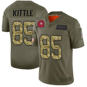 San Francisco 49ers #85 George Kittle Jersey